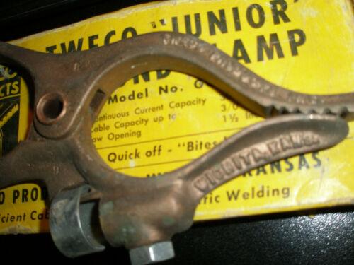 Tweco Junior GC-300 300 Amp Ground Clamp, NEW