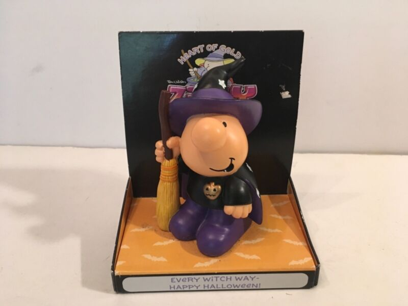 Ziggy Any Witch Way Halloween Figurine Hearts of Gold Russ 2005