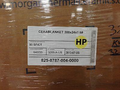 Ceramic Fiber Blanket 2400  1 X 24 X 25 8 Dens
