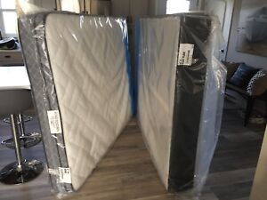 NEW QUEEN SIZE KINGSDOWN BOXSPRING AND MATRESS