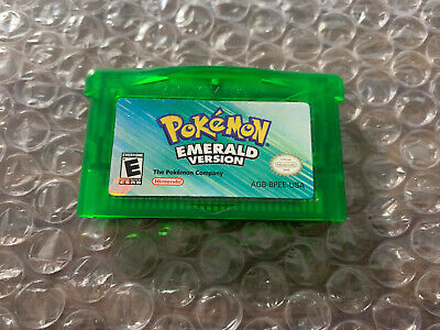 Pokemon Emerald Version (Game Boy Advance, GBA) Authentic game cart -- Tested