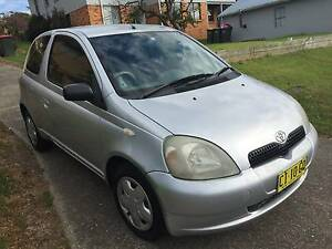 2002 Silver Toyota Echo Hatchback. Low kms. Excellent value. Greta Cessnock Area Preview