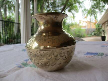 Indian Brass Floor Vase Vases Bowls Gumtree Australia Gold