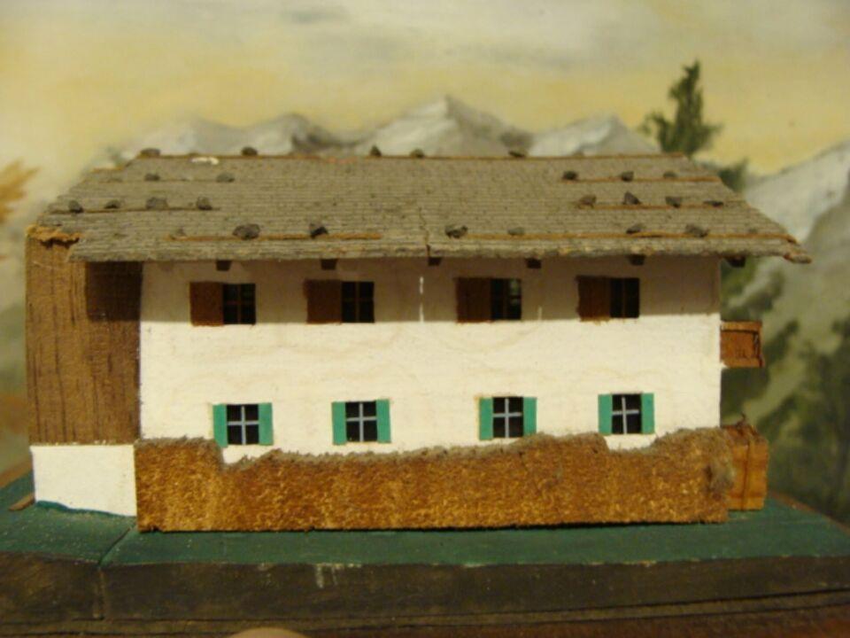 """PREISER, sehr altes """"Berghaus"""" von 1954, aus Holz gebaut in Baden-Württemberg - Kornwestheim"""