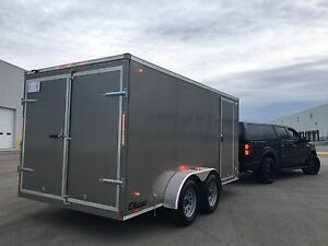 **2017 Cargo Trailer 2x3500lb Tandem Axles LED Lights***