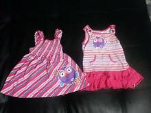 ABC giggle and hoot size 1 (recommend size 0) dress x2 Adamstown Newcastle Area Preview