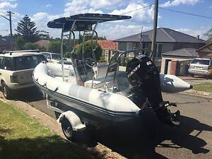 Atomix 500 RIB with 60HP Mercury Northbridge Willoughby Area Preview