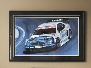 Mercedes-Benz AMG Framed Painting Print