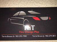 Change & balance tires