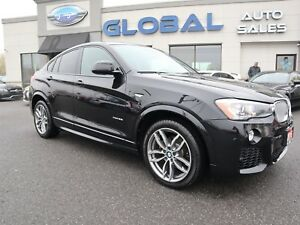 2016 BMW X4 xDrive35i M-SPORT. NAV. ALLOYS.