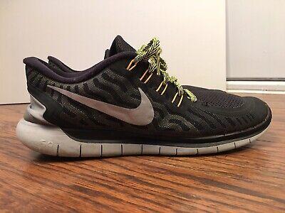 best cheap 036ba 409c6 Nike Free 5.0, 724382-007, Black   Gray, Men s Running Shoes, Size 12,  Freerun