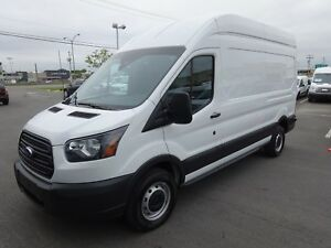 2017 Ford Transit Cargo Van 250 High Roof VITRES FIXES ARRIÈRE
