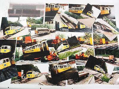 """40 Fotos mit Negativen - Wendelsteinbahn - Brannenburg 1996 """"Zb54"""