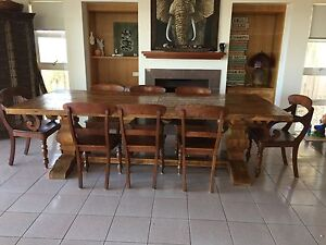 Beautiful Emperor Dining Table and 8 Chairs Redcliffe Redcliffe Area Preview