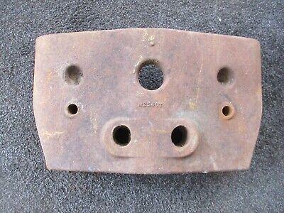 John Deere 420 430 S U H V M2546t Starter Weight