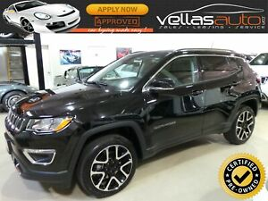 "2018 Jeep Compass Limited LIMITED| NAVI| PANORAMIC RF|19""ALLY..."