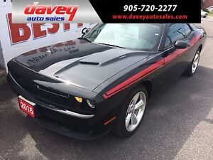 2016 Dodge Challenger R/T 5.7L HEMI, HEATED AND AIR CONDITION...
