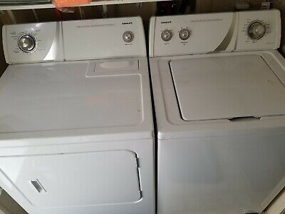 Admiral Washer and dryer...20 months of use