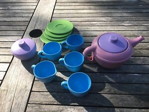 Green Toys recycled plastic tea set