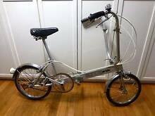 VINTAGE RETRO BICKERTON PORTABLE/FOLD UP ALUMINIUM BICYCLE Old Toongabbie Parramatta Area Preview