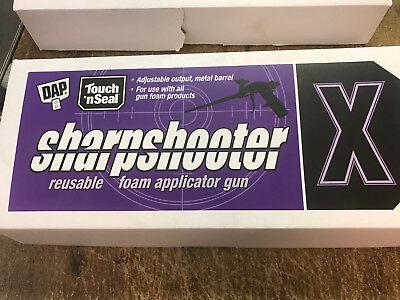 Dap Touch N Seal Sharpshooter X Reusable Foam Applicator Gun 9700074757