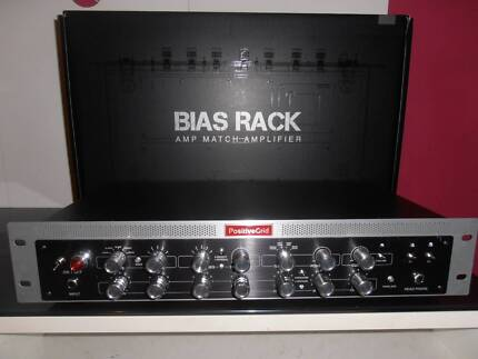 GUITAR AMP BIAS AMP RACK 600W plus Warranty and AMP Software incl
