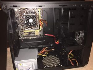 Asus motherboard with and processor, hyperx ram