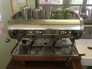 Commercial Coffee Machine San Marino Lisa 2 Glass House Mountains Caloundra Area Preview