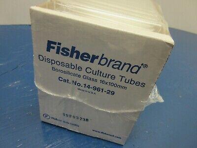 Fisherbrand 14-961-29 Disposable Borosilicate 15ml Glass Tube 16 X 100mm