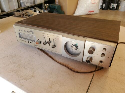 Vintage Electrophonic Cat No. 954 IC/FET AM FM FM Multiplex 8 Track Recorder