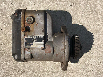 Vintage Fairbanks Morse Magneto Type F.m. -for Parts Only