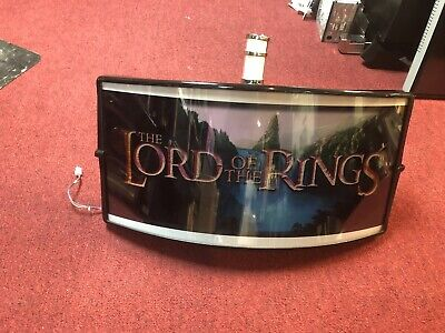 WMS BB2/BB3 LORD OF RING CANDLELIGHT. SLOT MACHINE TOPPER.