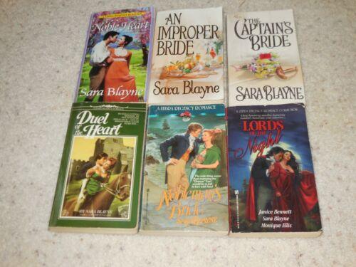 SARA BLAYNE 8 Paperbacks