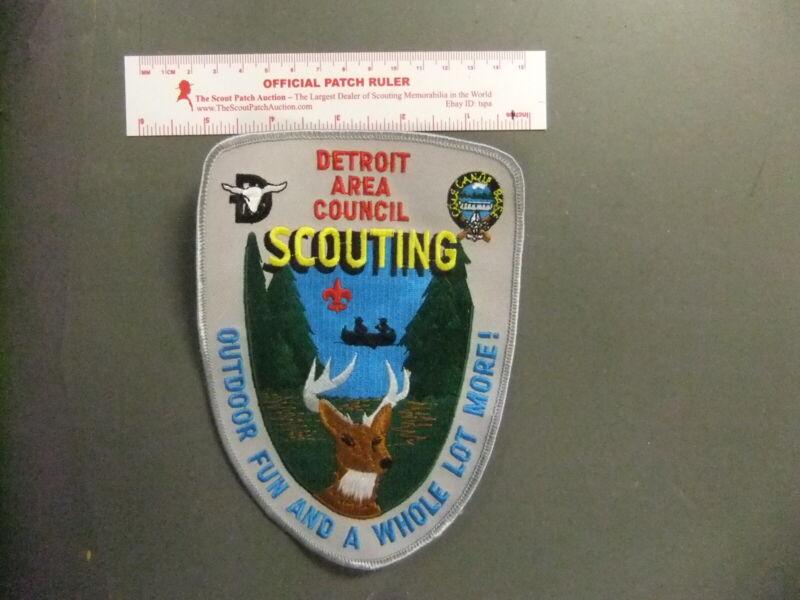 Boy Scout Detroit Area Council Camps Jacket Patch 3317GG