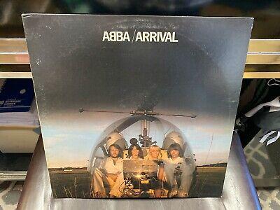ABBA Arrival LP Atlantic 1976 VG+ w/ printed inner [Dancing Queen]