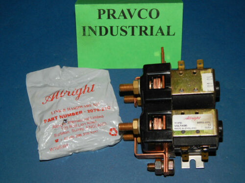 Albright SW88-101L Contactor 12Volt with 2070-210 Link and Hardware Kit