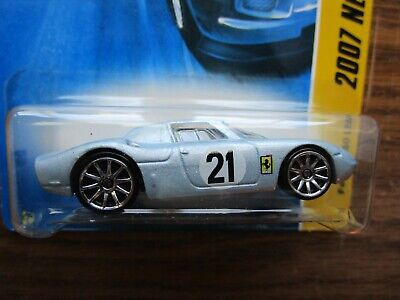 2006 HOT WHEELS   FERRARI 250LM    SILVER