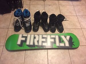 Kids board and boots