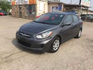 2012 Hyundai Accent Hyundai Serviced Well maintained 4dr Sdn Aut