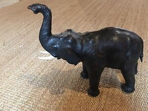 Leather Elephant home decoration  Kitchener / Waterloo Kitchener Area image 2