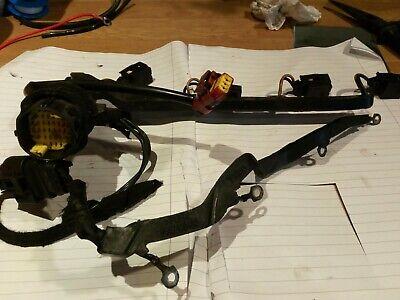 Citroen C2/C3 1.4 Hdi injector and glow plug wiring loom Engine bay.