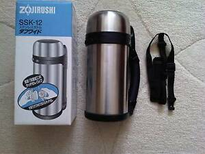 ZOJIRUSHI Stainless Hot or Cold Thermos Bottle Eastwood Ryde Area Preview