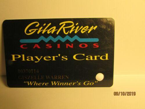 Gila River Casino- Players Card- nice