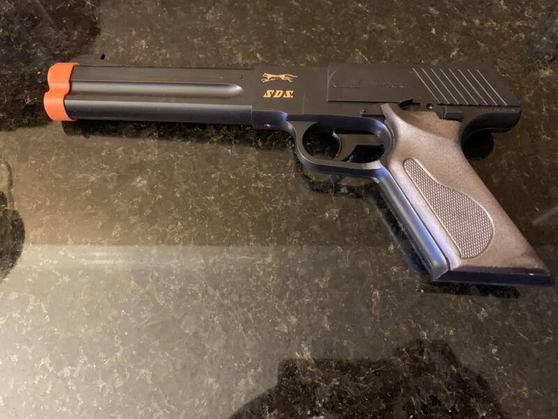 SDS. 22 Long Plastic Toy Pistol SDS PELLETGUN MADE IN JAPAN VINTAGE (Free Ship)