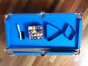 Mini billiard ball pool table set Endeavour Hills Casey Area Preview