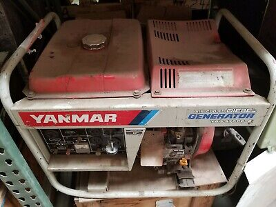 Yanmar Ydg3700e-ei Generator Surplus Heavy Duty Generator Camping