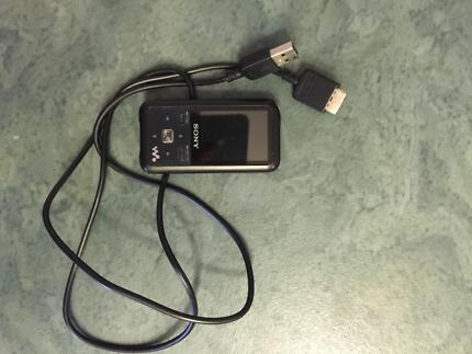 Sony Walkman MP3 player with charger chord Bonnells Bay Lake Macquarie Area Preview