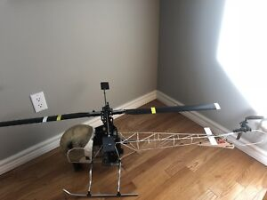 Nitro RC helicopter complete kit