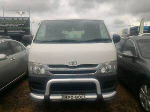 Toyota Hiace 2010 LWB 5SP Manual Rent To Own for $259 Per Week Mount Druitt Blacktown Area Preview