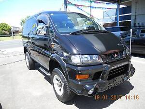 2002 Mitsubishi Delica 4x4 55008 kms lift kit $14499 drive away Fawkner Moreland Area Preview